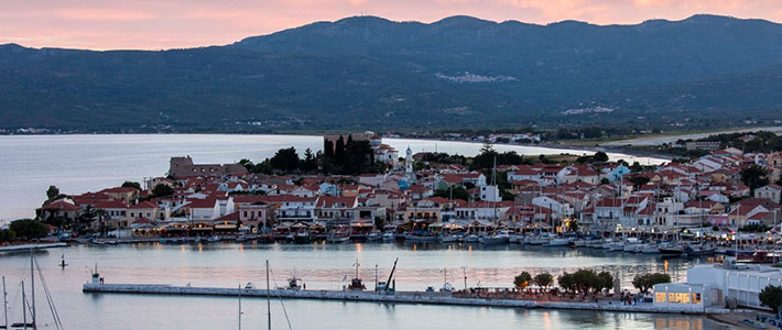 La isla de Samos, Islas del Egeas del Norte, Grecia, Islas Griegas