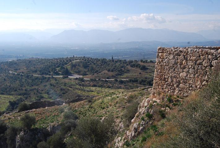 El Palacio de la Acrópolis de Micenas