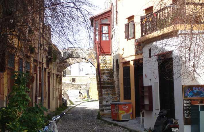 La Judería. El Barrio Judío de Rodas
