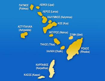 Islas griegas del Dodecaneso, Grecia