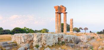 Acrópolis de Rodas, Monte Smith