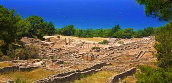 Recinto arqueológico de Kamiros (Kaimiros), Rodas Grecia