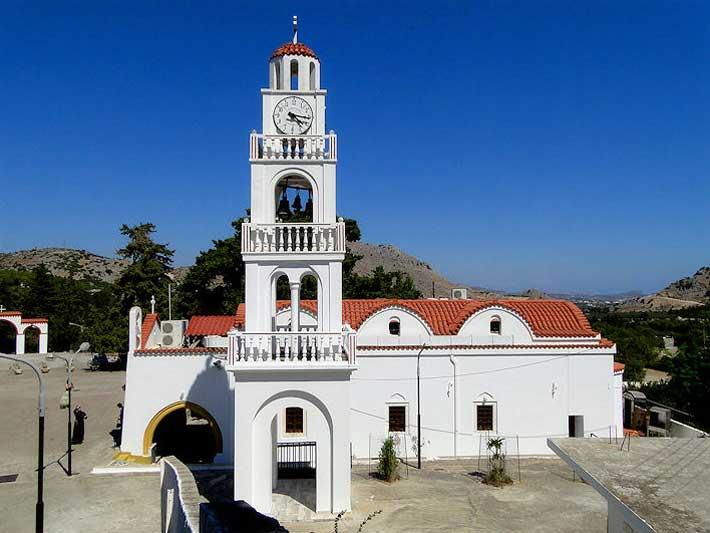 Monasterio de Panagia Tsambika, Rodas