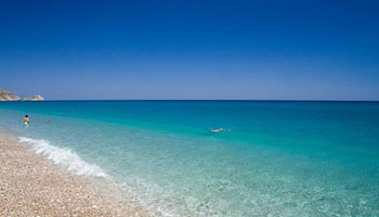 playa en rodas grecia