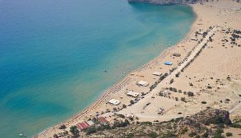 Playas de Rodas. Playa de Fourni
