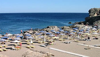 Playas de Rodas. Playa de Kallithea (Kalithea)