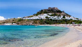 Playas de Rodas. Playa de Lindos