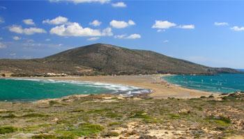 Playas de Rodas. Playa de Prassonisi (Prasonisi)