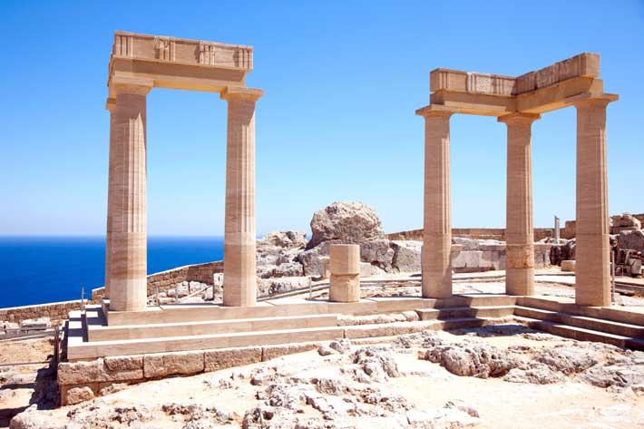 Templo de Atenea Lindia, Lindos Rodas