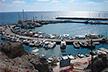 Puerto náutico de Santorini, en Vlihada