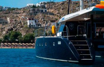 Velero de Lujo con tripulación Anassa en Grecia