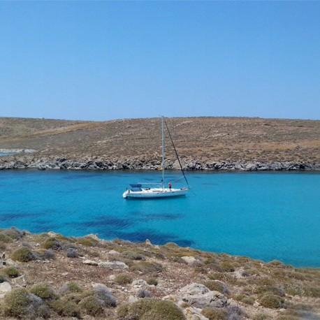 Excursión Velero desde Mykonos a Delos y Rhenia