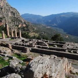 Excursion a Delfos | Templo de Apolo