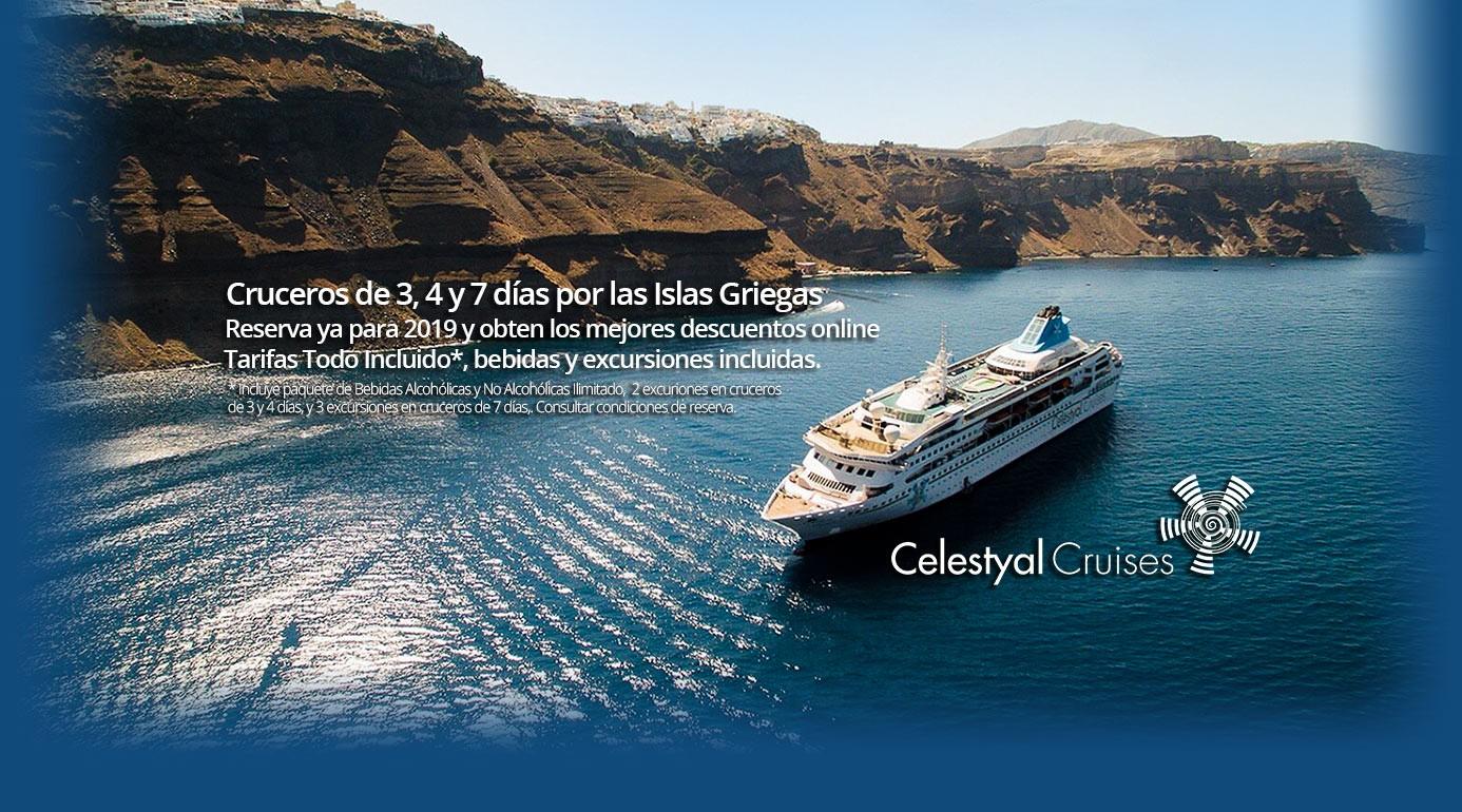 Reserva Cruceros Grecia 2019 Celestyal Cruises