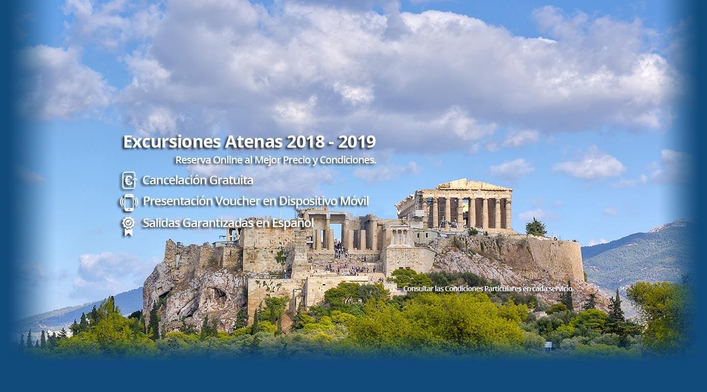 Programa Excursiones en Atenas Grecia 2018 - 2019