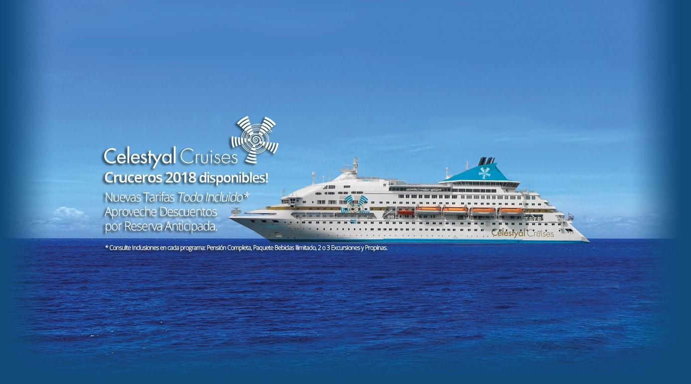Reserva Online Crucero Celestyal Cruises